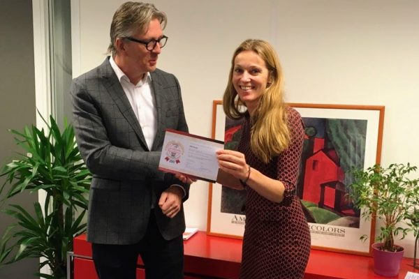 nieuws - uitreiking certificate of excellence - assessment - competentie indicator - hrd groep
